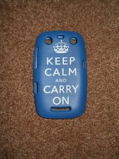 Keep Calm and Carry On Cover For Blackberry Curve 9360