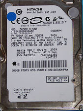 Hitachi HTS545050B9SA02 | MLC: DA3350 | 0A78255 | JAN-10 | 500GB disco rigido