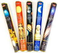Hem Sun Moon Star Planet Galaxy - Celestial Incenses - Free Shipping!