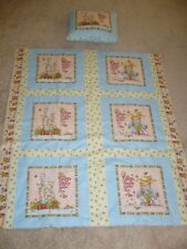 Mary Engelbreit Handmade * Friends Are The Flowers * Quilt /Blanket Free Pillow