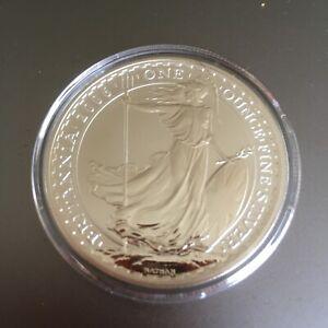 GB ROYAL MINT £2 BRITANNIA 1OZ 2006 SILVER COIN SUPERB QUALITY IN CAPSULE