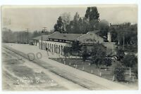 RPPC Western Pacific Railway Railroad Station OROVILLE CA Real Photo Postcard