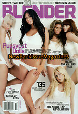 Blender 10/08,Pussycat Dolls,Kings of Leon,Oasis,Nicole Scherzinger,October 2008