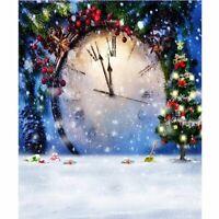 5D Diamond Painting Embroidery Christmas Clock DIY Cross Stitch Art Home Decor