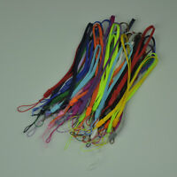 50pcs/lot Wrist Straps Lanyards Assorted Colors for Camera Cellphone MP3 MP4