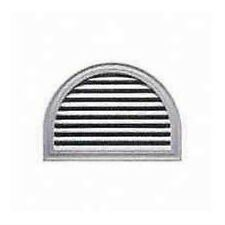 Duraflo 626095-00 22-Inch Half Moon Decorative Gable Vent, White
