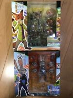 KAIYODO REVOLTECH Movie Revo Zootopia Nick Wilde Judy Hopps Set of 2 Figure