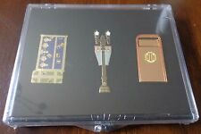 Disney Pin DLR Cast Exclusive Tower of Terror 3 Pin Set Le - Sealed Case New
