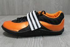 53 RARE Adidas Adistar 2006 Discus Hammer Throw Shoes Orange Track Mens Sz 8.5