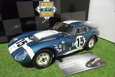 SHELBY COBRA DAYTONA Coupé #15 GT Bondurant WINNER SEBRING 1965 1/18 EXOTO 18015
