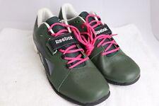 Reebok Crossfit Lifter Oly U-Form Men's Shoes Size US 14 Green V60020