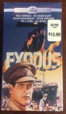 Exodus VHS 1992 2 Tape Set Screen Epics Paul Newman Eva Marie Saint VHSshop.com
