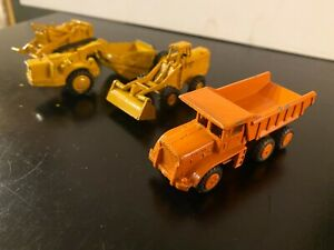 vintage  lot of 4, Litl Toy, Mercury,  Trucks, tractors  made in USA 1969