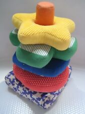 VTG  Discovery Toys Nesting Stacking Shape Sorter Rattle Texture Sensory Blocks