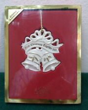 Lenox Ornament First Christmas Together 2002    China  New in Box!        (OL08)