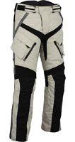 motocicleta cordura textil Manguera Talla 2xl Pantalones Moto Negro Gris s-5xl