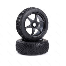 81035 HSP Wheel+Tyre Complete Black HSP 1/8 Buggy AMAX Redcat