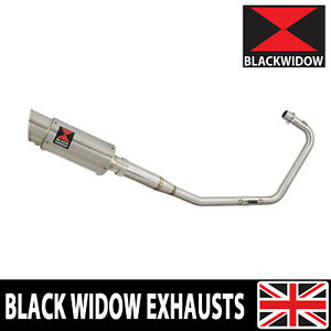 Exhaust System Round Stainless Silencer 200SS Fits Lexmoto Venom / Viper 125