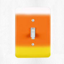 Candy Corn Light Switch Cover Plate Duplex Outlet Halloween Fall Festive New