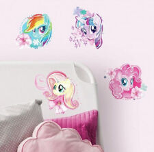 MY LITTLE PONY MOVIE wall stickers 4 big watercolor decals Rainbow Dash MLP