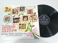 """La Pergola de las Flores Pancho Marujita Diaz 1965 RCA - LP 12"""" Vinilo VG/G+"""