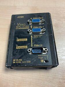 Aten VS-102 1:2 VGA Video Splitter, used