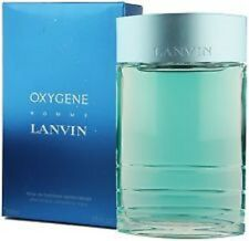Oxygene Homme by Lanvin 3.4 OZ After Shave Refreshing Wave New in Sealed Box