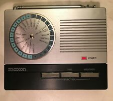 Vintage Weather Maxon Wx-2 Radio - Rare!