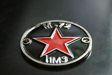 Fuel tank genuine badge mark emblem - black enamel M-72 Molotov Cossack Neval