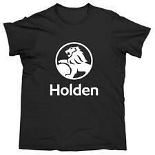 NEW 2018 Holden BLACK/WHITE Logo Men's Tee T-Shirt Mens Fathers Birthday Gift