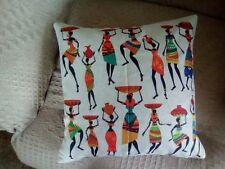 African Print  Cushion