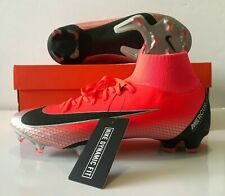 Nike Mercurial Superfly 6 Pro CR7 FG Bright Crimson Soccer Cleat SZ (AJ3550-600)