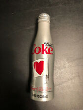 Coca-Cola Coke DIET COKE HEART TRUTH Aluminum Bottle - NEW / Unopened