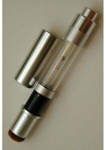 Ultimate Silver Powder Dispensing Pump Cosmetic Makeup Brush Vegan
