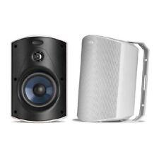 Polk Audio Atrium 5 Outdoor Speaker, 60Hz-25kHz, Pair, Black Brand New