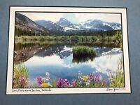 Original Photo -Signed- Steve Tohari-Coney Flats Above Boulder, CO. Matted NICE!