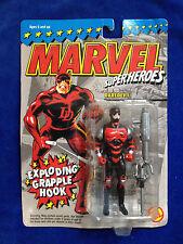 DAREDEVIL exploding grapple hook Marvel Super Heroes 1994 Toy Biz Action Figure