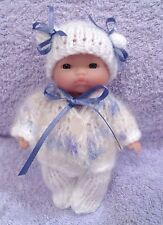 "Hand Knitted Clothes for 5"" Berenguer Doll (7)"