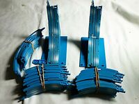Marchon HO Slot Car Skyfighter Blue Loop Track with Brackets Rare VHTF