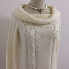 LIZ LISA Sweater White Knit Top Kawaii Japan Gyaru Fahion #12917