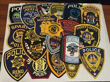 25 Patches Mixed States Police Patch Lot B