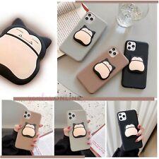 Cartoon Kawaii 3D Snorlax Soft Slim Case For iPhone 7 8 PLUS X XS XR 11 PRO MAX