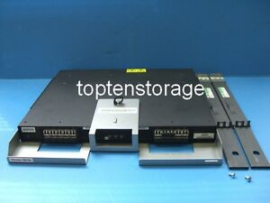 IBM 90P9023 20-Port Switch IBM FC 4875 8Gb mit Rail-Kit für 3584 Tape Library