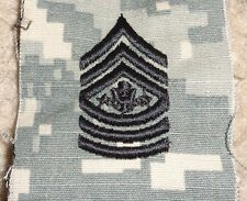 U.S.ARMY SERGEANT MAJOR OF THE ARMY, ACU HAT SEW ON INSIGNIA,