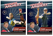 Beginning and Advanced Archery by Lloyd Brown (New 2 DVD Set)