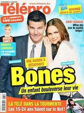 french magazine Télépro N°3117 david boreanaz emily deschanel jennifer lawrence