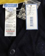 Jacadi Paris Boy's Dark Marine Blue Cardigan Sweater Button Up Size 4 Years New!