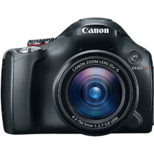 NEW Canon PowerShot SX40 HS 12.1MP Digital Camera Black w/35x Wide-Angle