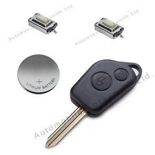 DIY Repair kit for Citroen Saxo Picasso Xsara Berlingo 2 button remote key fob