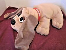 "1998 Pound Puppies Tan 17"" Puppy Makes Panting Noise - Made by Galoob Toys, Inc."